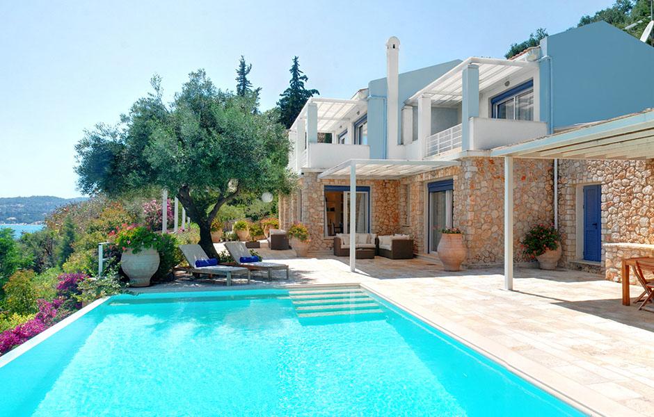 corfuforall corfu villa azur luxury villa barbati